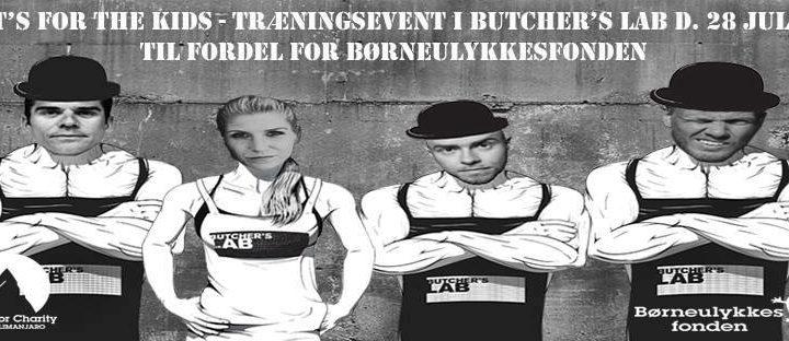 BUTCHERS LAB x BØRNEULYKKESFONDEN
